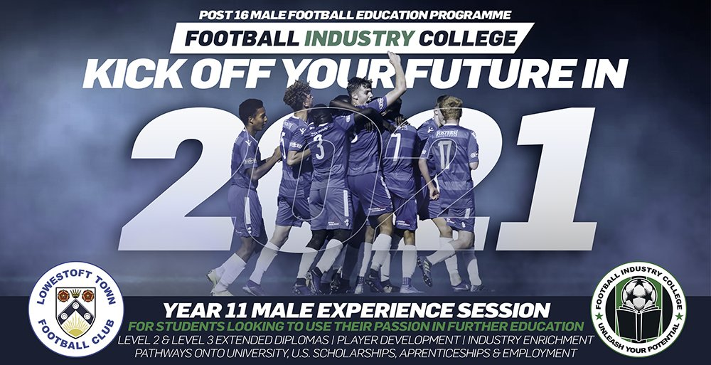 Football Industry College - Lowestoft Male Experience Session