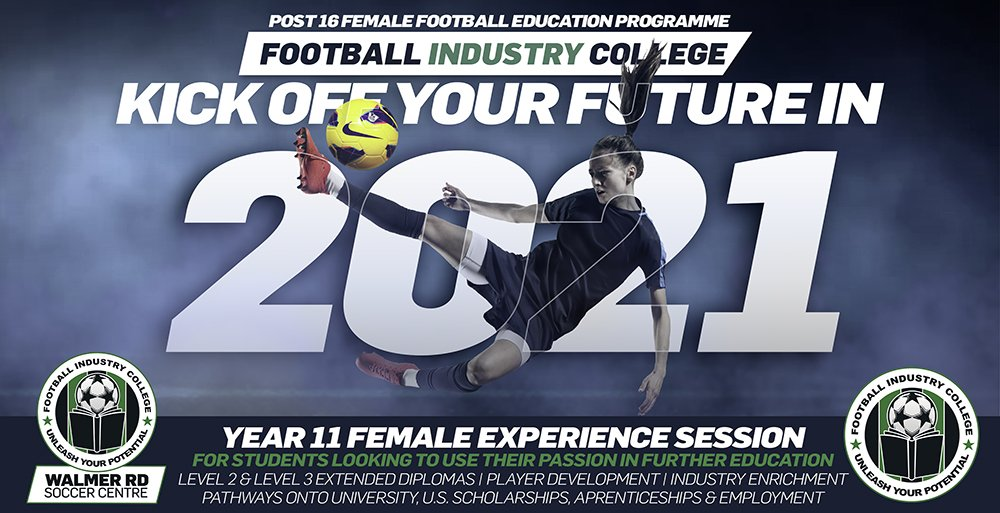 Football Industry College - Lowestoft Female Experience Session