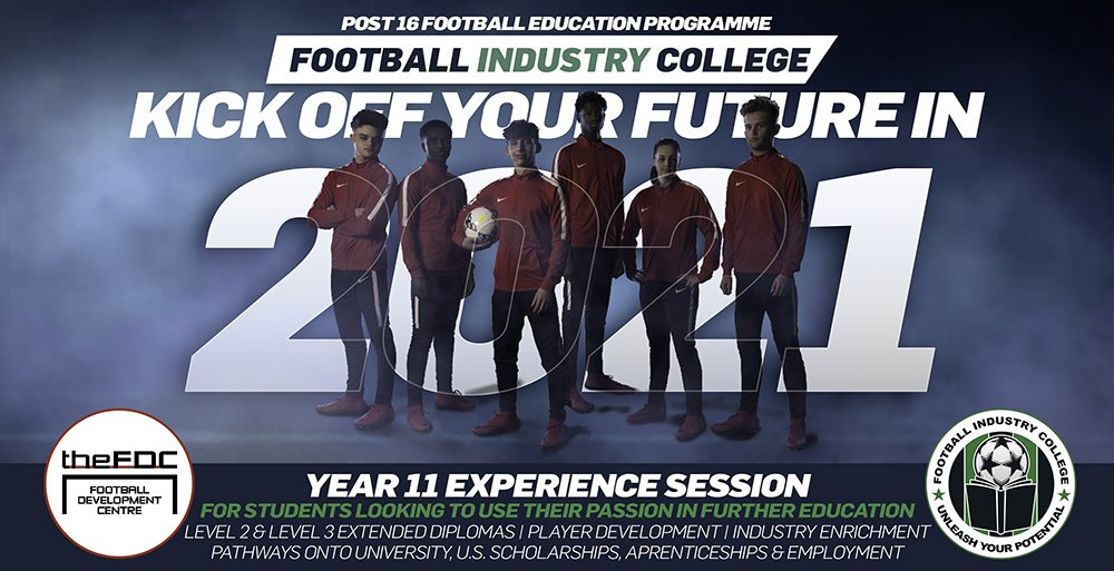 Football Industry College - Norwich Experience Session & Open Event