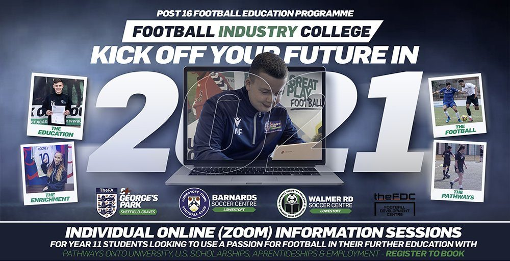 Football Industry College - Online Individual Information Session