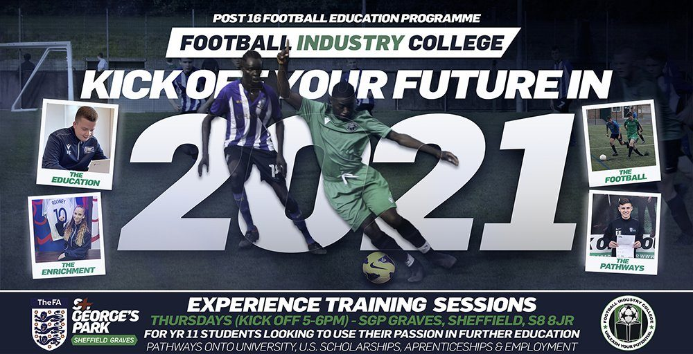 Football Industry College - SGP Graves - Experience Training Sessions