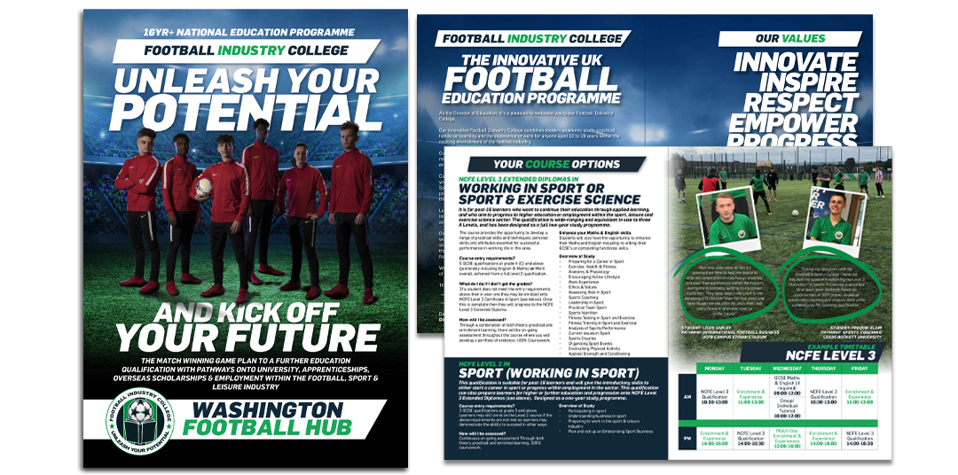 Football Industry College - SGP Graves Sheffield Brochure