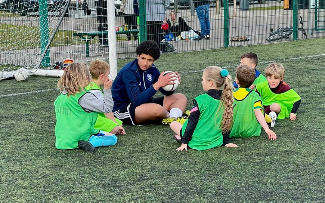 Scholars Deliver Brian Gallagher Community Football Sessions